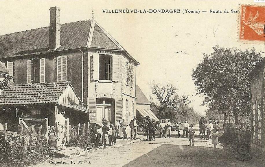 histoire de villeneuve la dondagre