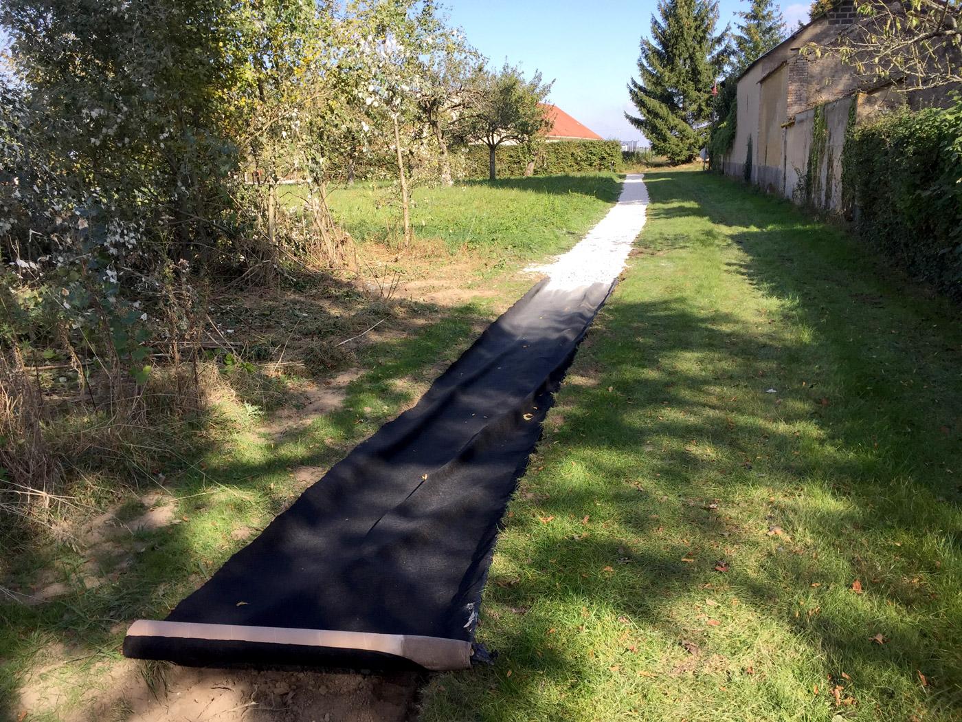 aménagement du chemin vert